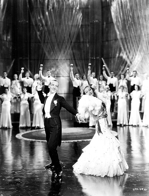 """3/11/14  7:06a  MGM """"Dancing Lady""""  Joan Crawford  Fred Astaire  His film Debut  1933"""