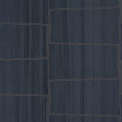 MART DonkerBlauw Bruin behang