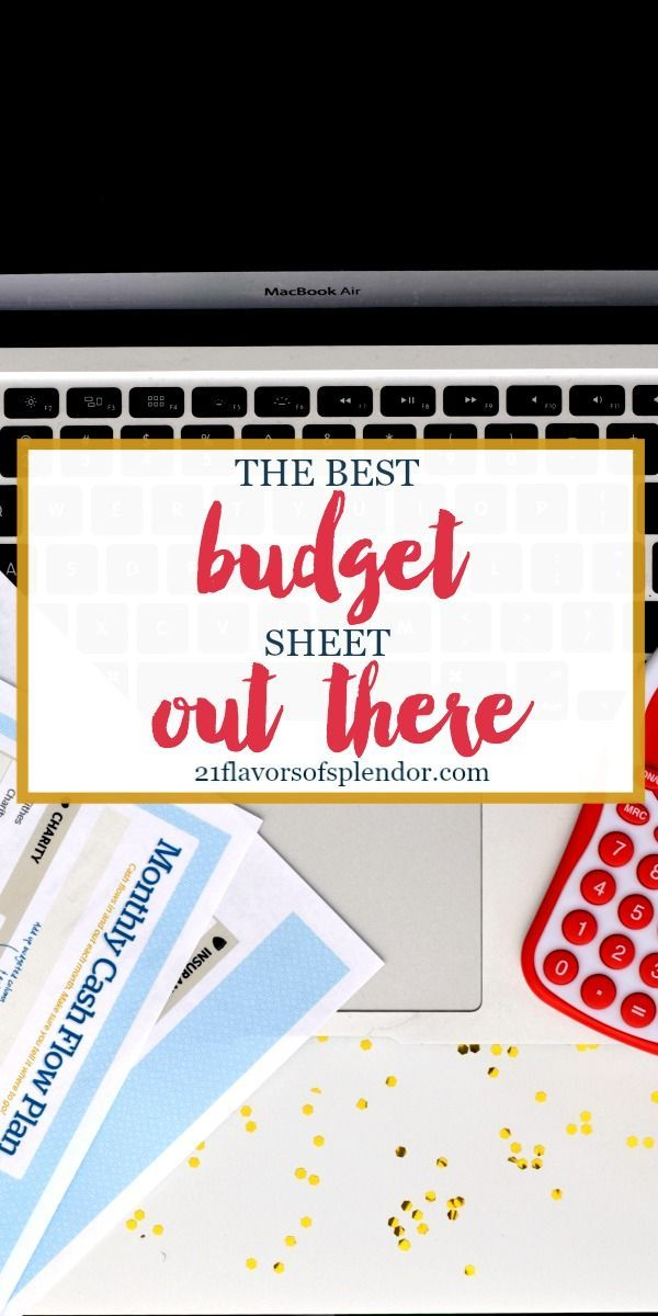 The  Best Monthly Budget Sheet Ideas On   Monthly