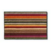 Missoni home jazel bath mat, multicoloured stripes, 90 x 60 cm