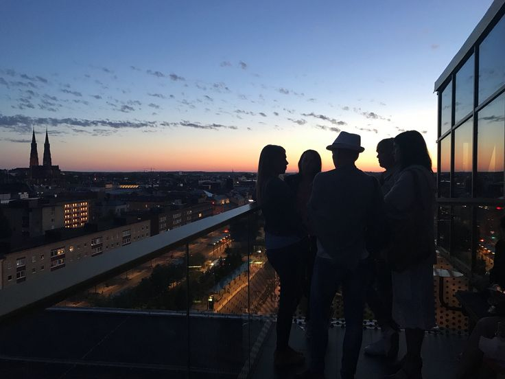 You don't wanna miss Uppsala's funky, sassy new rooftop bar! #Sweden #bars #cocktails