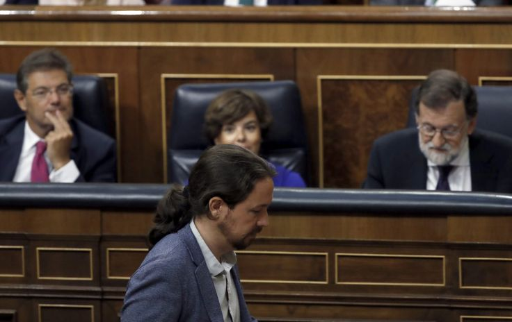"""Iglesias a Rajoy: """"Piensa de corazón que los ciudadanos le creen cuando dice que no sabe nada?"""