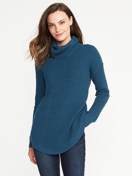 Old Navy Textured Turtleneck Tunic for Women