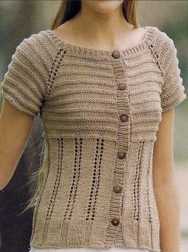 Moldes blusa verano palillos