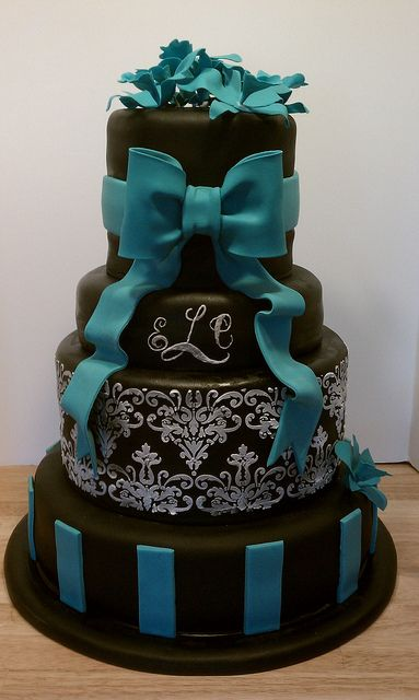 teal wedding cakes pictures best 25 teal wedding cakes ideas on 20788