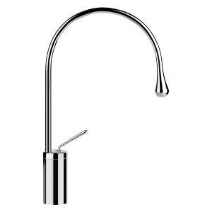 33605 - Gessi Goccia Basin Mixer With Spout R125mm - Bathroom #abeyaustralia #gessigoccia #basinmixer
