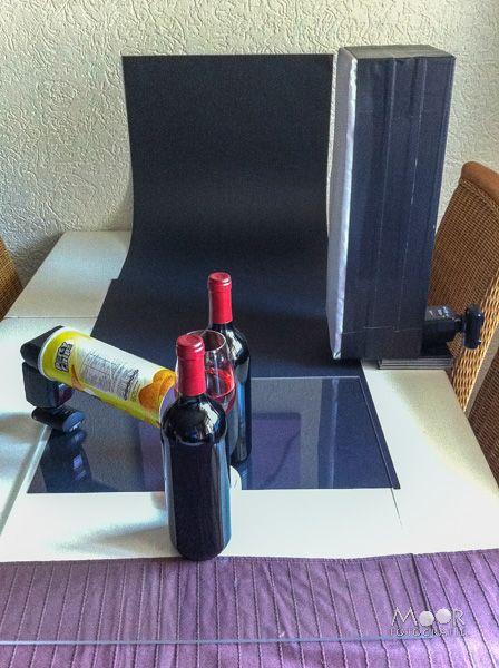 Wijnflessen en DIY Striplights Setup