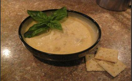 Πατατόσουπα με τυρί