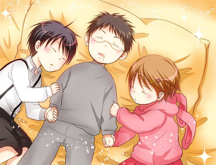 Izuki x Riko x Hyuga
