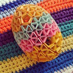 pisanka origami