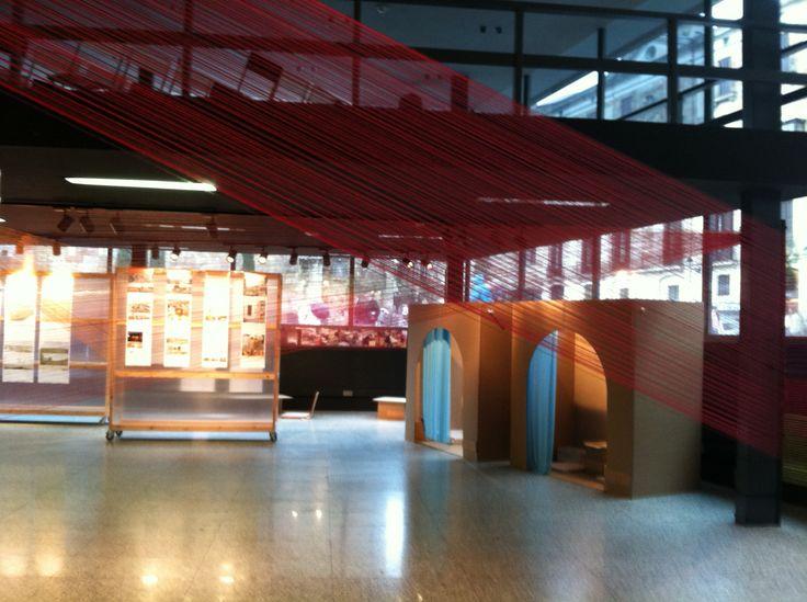 Paper architecture installation