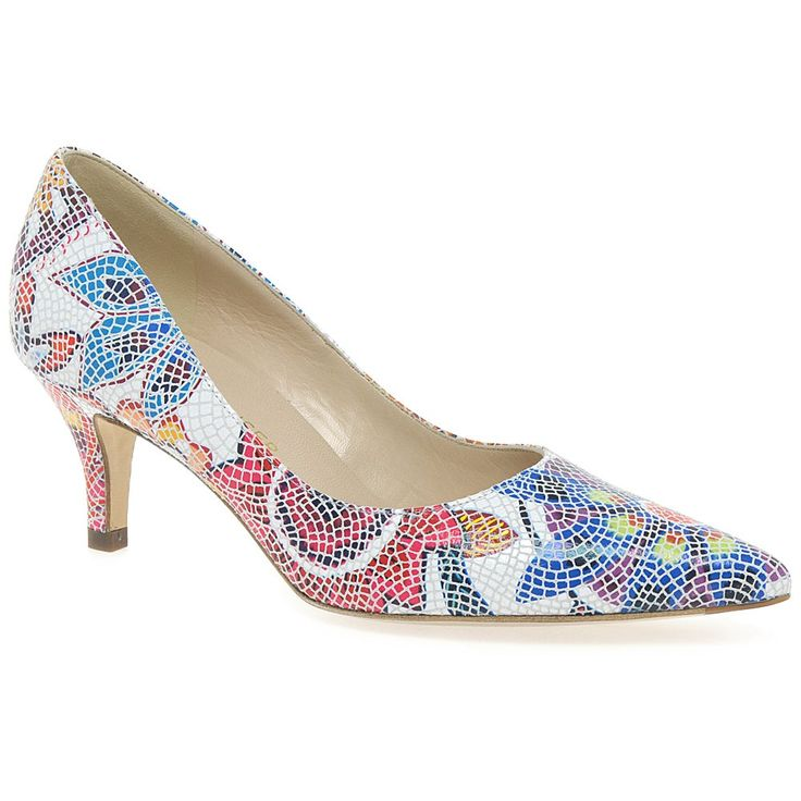 Peter Kaiser Soffi Floral Mosaic Court Shoes |