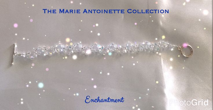 Enchantment Crystal Bracelet.. so delicate and feminine. Made from Swarovski Crystals. $44 #swarovski