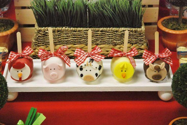 Farm, Barnyard Birthday Party Ideas | Photo 6 of 17 | Catch My Party