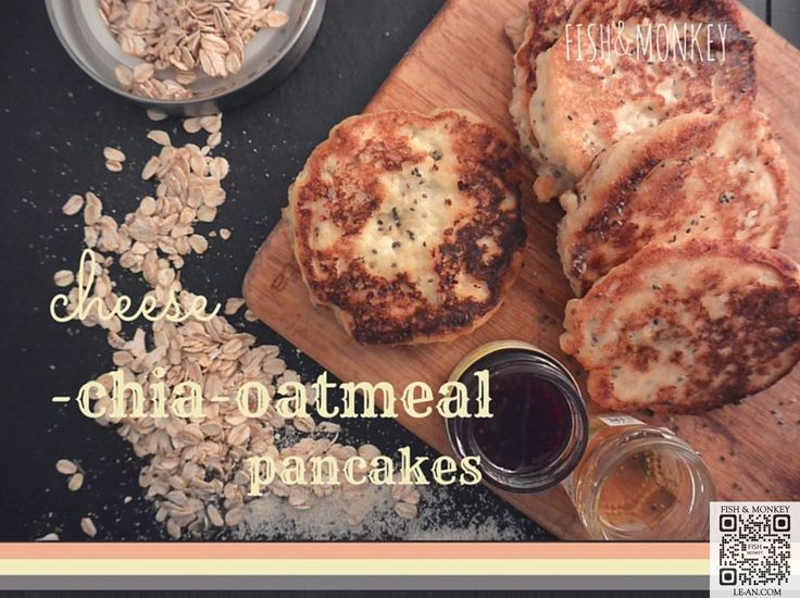 breakfast #superfood have a look at the #chia #oatmeal #pancakes http://goo.gl/vSNaTy le-an.com