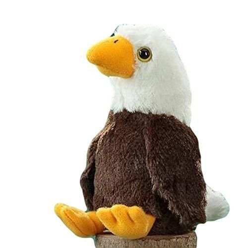 The Stuffed Animal House Baby Bald Eagle 6.5''