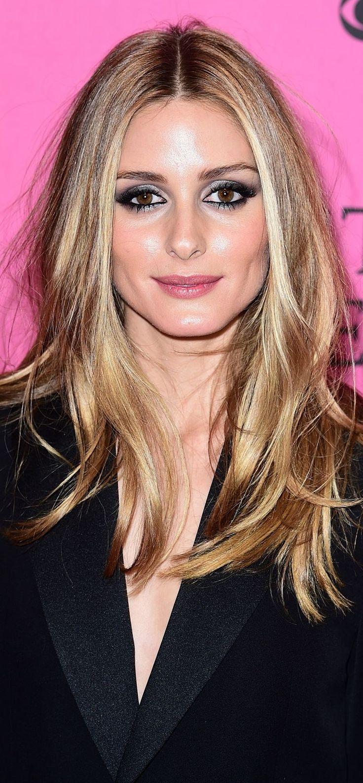 Olivia Palermo – que cabelo é  esse gente? lindo!! make idem.