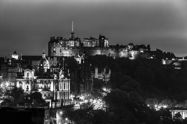 Edinburgh Castle by Leszek Wybraniec on 500px