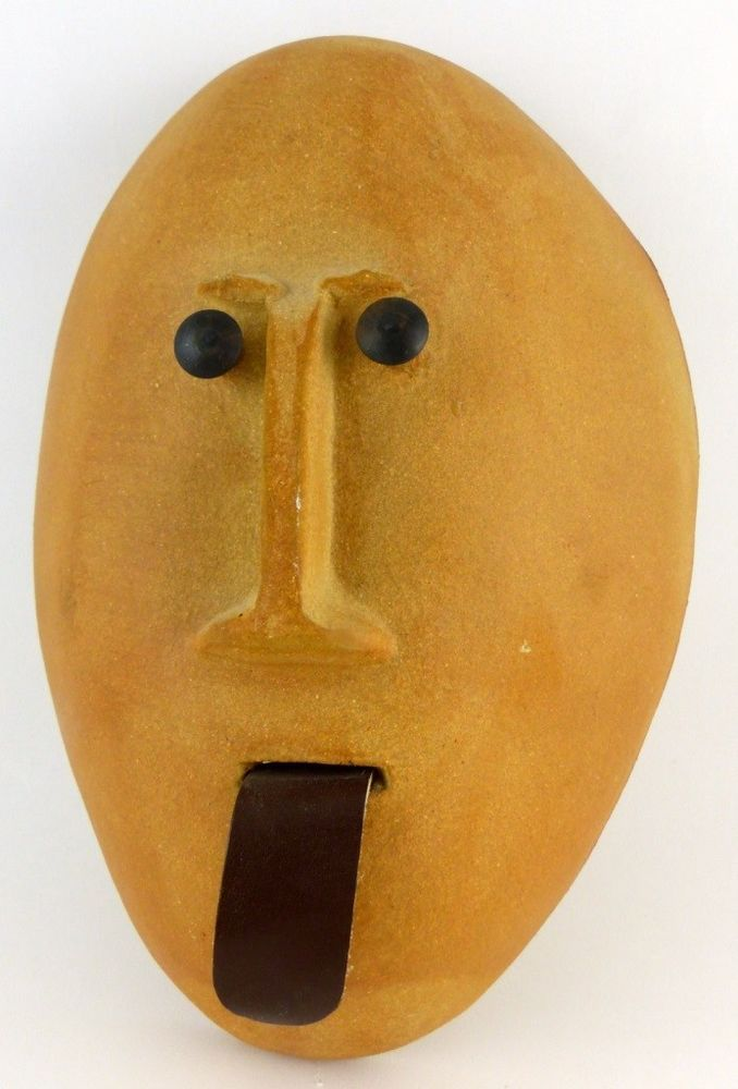 BENNINGTON POTTERY DAVID GIL MASK Lot 66