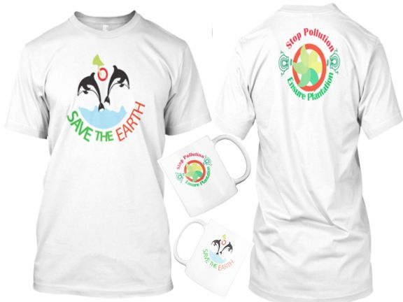 Best Purchased Tee and MUG for those who love world and committed to keep it safe. It also best campaign item for Safe earth, Pollution free earth and Green earth Slogan/campaign.