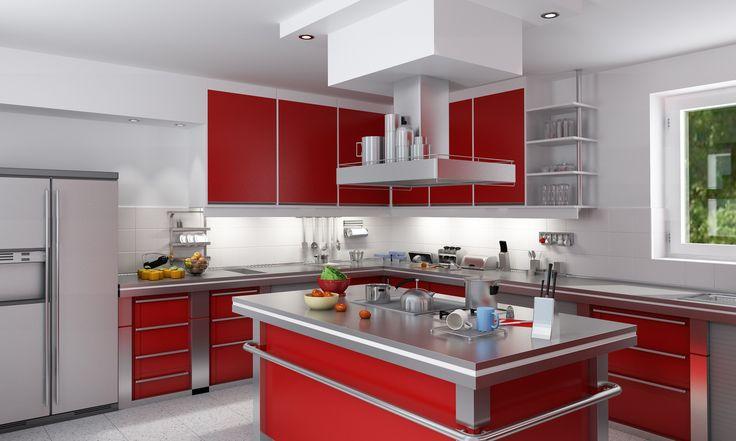 Die besten 25+ Moderne edelstahlküchen Ideen auf Pinterest - küche rot hochglanz