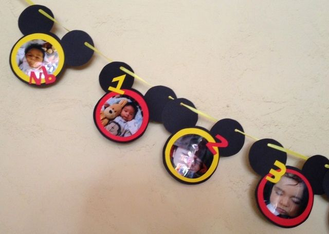 "Photo 5 of 23: Mickey Mouse / Birthday ""Cristian's 1st Birthday"" 