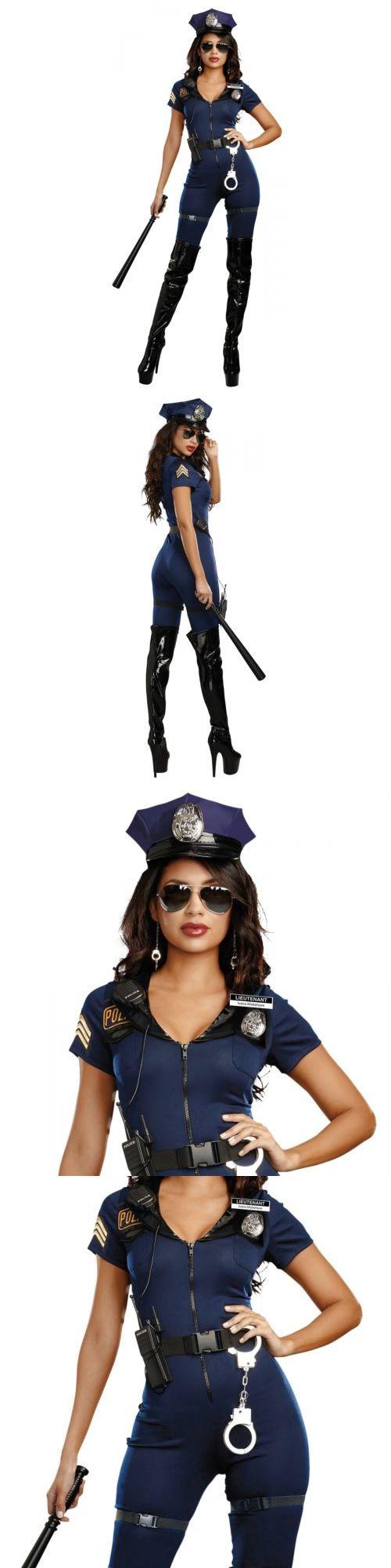 Women 53369: Cop Costume Adult Police Woman Halloween Fancy Dress -> BUY IT NOW ONLY: $44.19 on eBay!