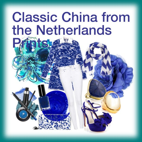 """Classic China From The Netherland Prints"" by ekamulya on Polyvore"