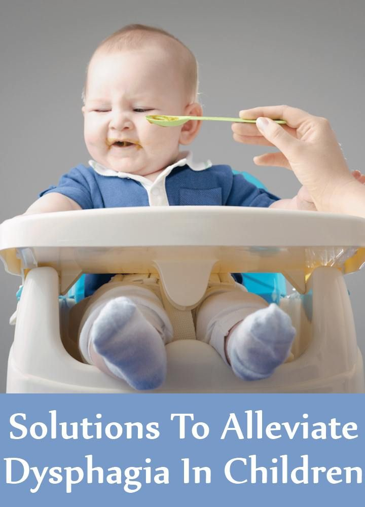 5 Solutions To Alleviate Dysphagia In Children