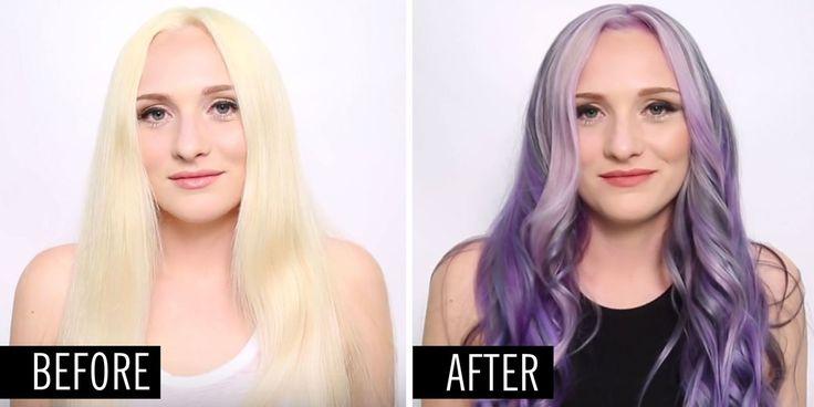 It's basically the fall version of rainbow hair.