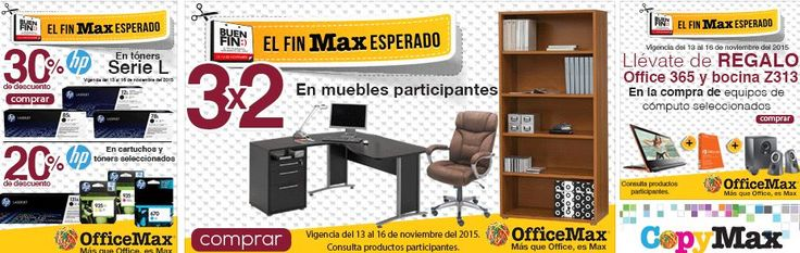 Office Max Folleto de Promociones del Buen Fin 2015