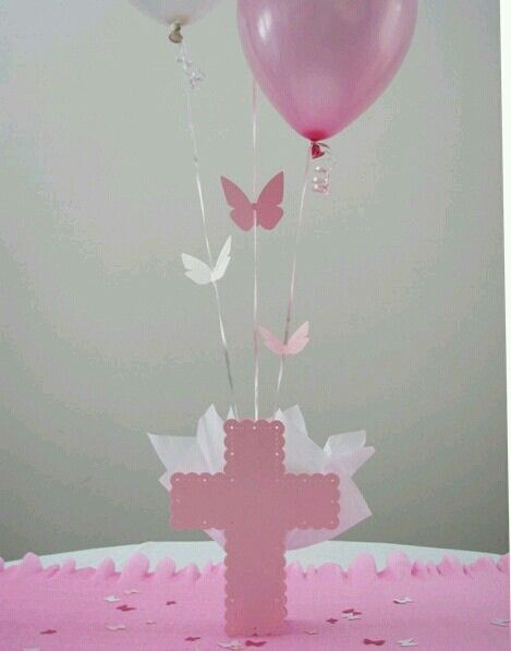 Baptism Centerpiece idea