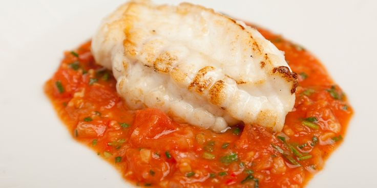 This marvellous monkfish recipe from Shaun Hill features a piquant ginger and garlic sauce that compliments the hearty monkfish fillet well