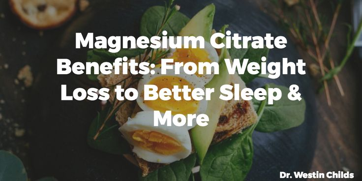 Magnesium citrate benefits range from helping with weight loss, to improving constipation and helping increase energy levels. Find the complete list here.
