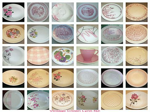 Crown Lynn /  Dinnerware /  Pattern  ~*~*~* Our aim is to supply our customers an opportunity to hire from our Gorgeous selection of Crown Lynn dinnerware to beautify their table settings / venue.