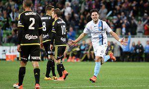 Bruno Fornaroli stars as Melbourne City take top spot against Wellington