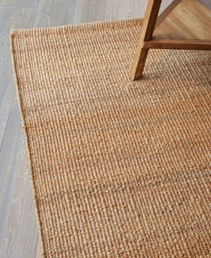 Natural fibre rug idea
