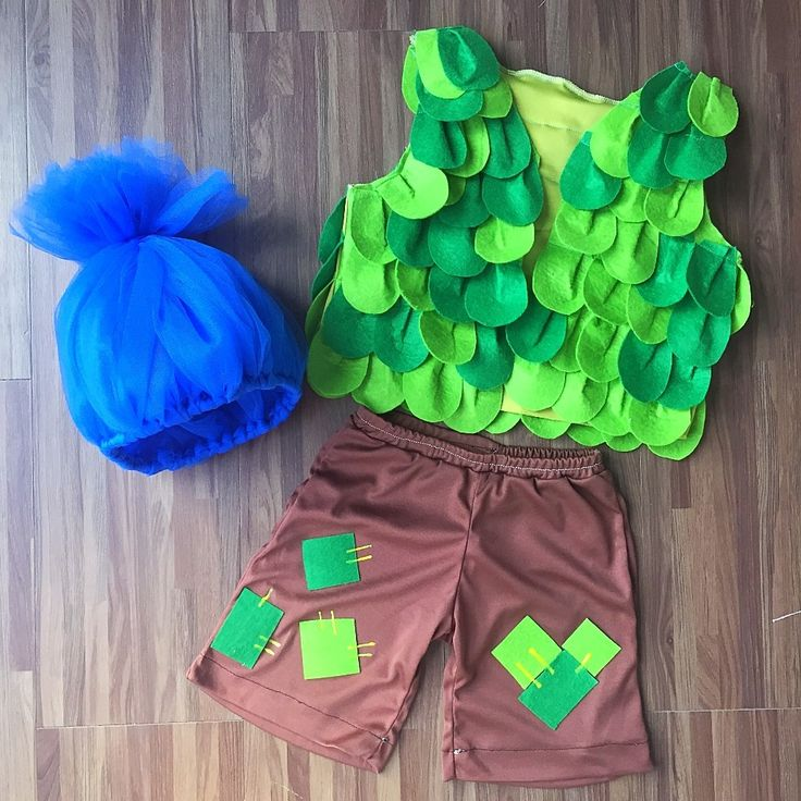 Branch trolls inspired costume - happy branch
