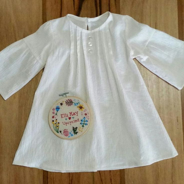 Beautiful little tunic. Made to order from a range of recycled and sustainable fabrics in sizes 2 to 10 years. Free Shipping in Australia.