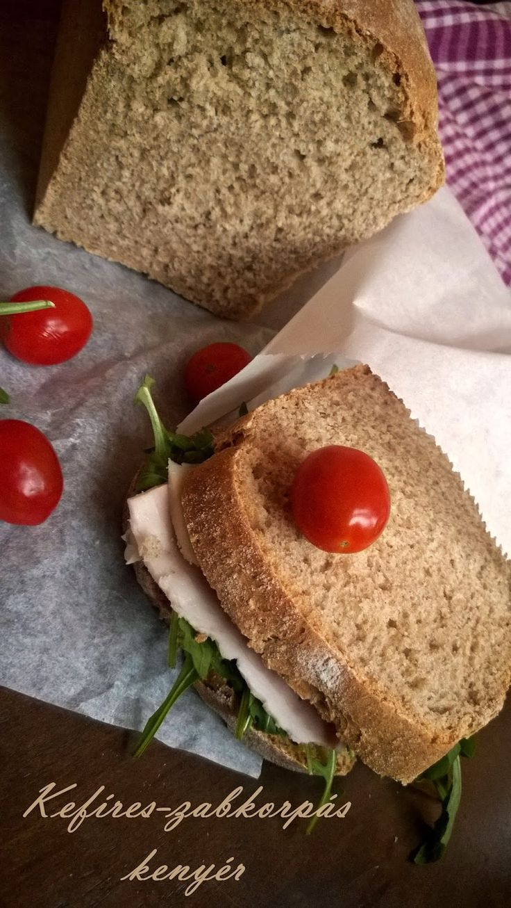 Kefires-zabkorpás kenyér