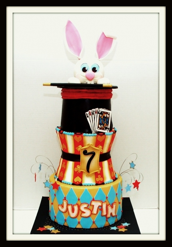 12 best Magic cakes images on Pinterest Magician cake Magician
