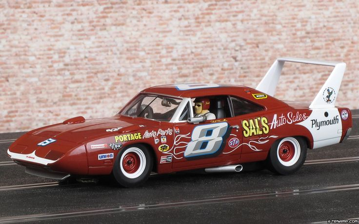 The slotcar Charger Superbird Nascar.  Brand CARRERA