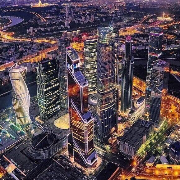 Москва, вечер, 25.09.2016