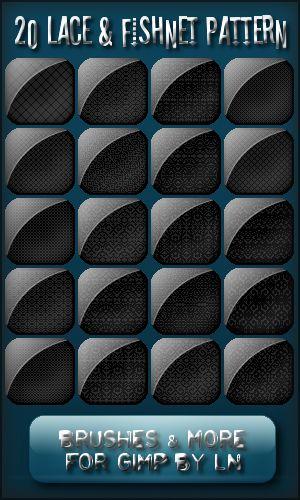 20 Lace and Fishnet Patterns by el-L-eN.deviantart.com on @DeviantArt