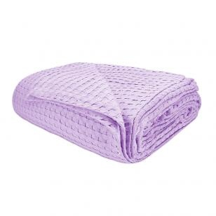 Stila Lilac Pique Single Blanket