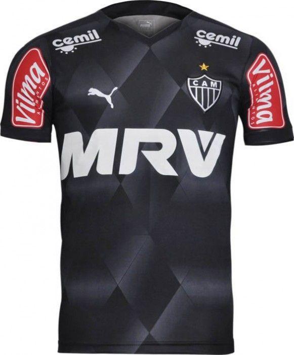 Terceiro uniforme do Atlético/MG para a temporada 2015 - http://colecaodecamisas.com/terceiro-uniforme-atleticomg-para-temporada-2015/ #colecaodecamisas #Atletico, #Puma