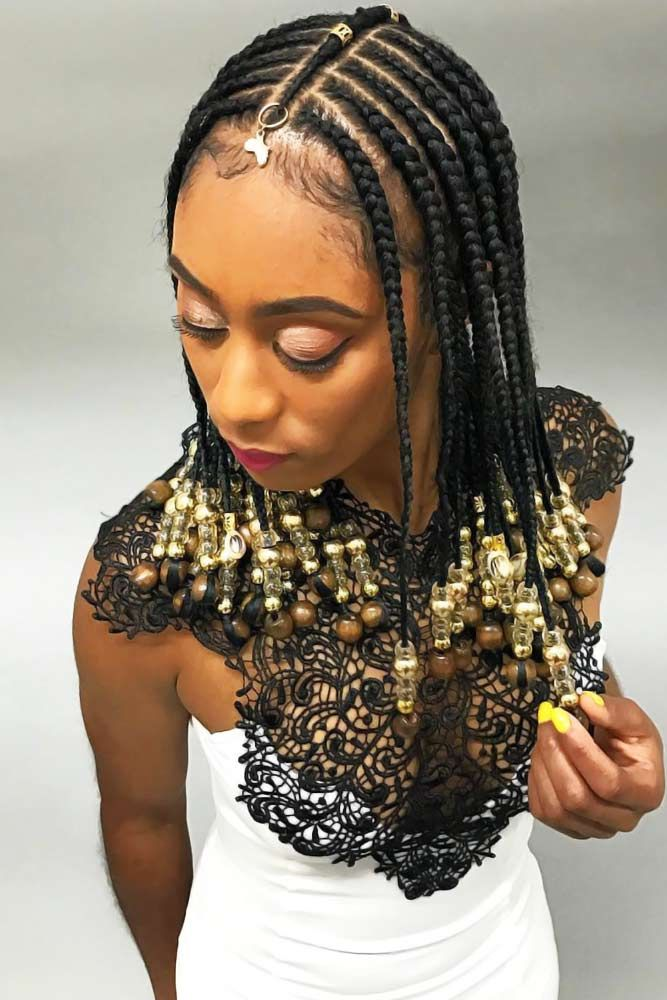 50 Attention Grabbing Fulani Braids Ideas To Copy In 2020 Hair Styles Womens Hairstyles Shoulder Hair