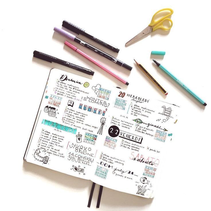 how to make bullet journal pretty