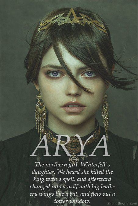 Arya Stark, She-Wolf, No One