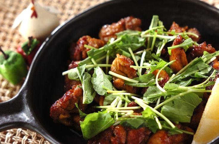 スパイシー照り焼きチキンのレシピ・作り方 - 簡単プロの料理レシピ | E・レシピ